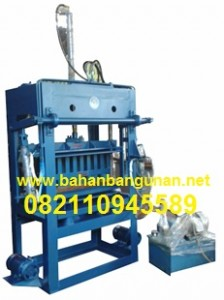 Mesin Press Batako dan Paving Block Hidrolik Manual